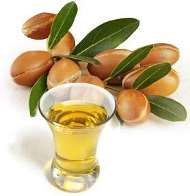 argan oil used for hair, face and body, hand and nail in everyday care.