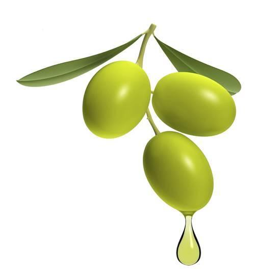 Olive oil Olive oil contains three major antioxidants: vitamin E, polyphenols and