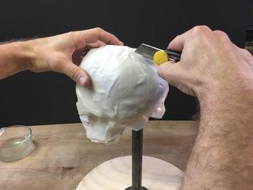 Remove Skull from Form Use a hobby