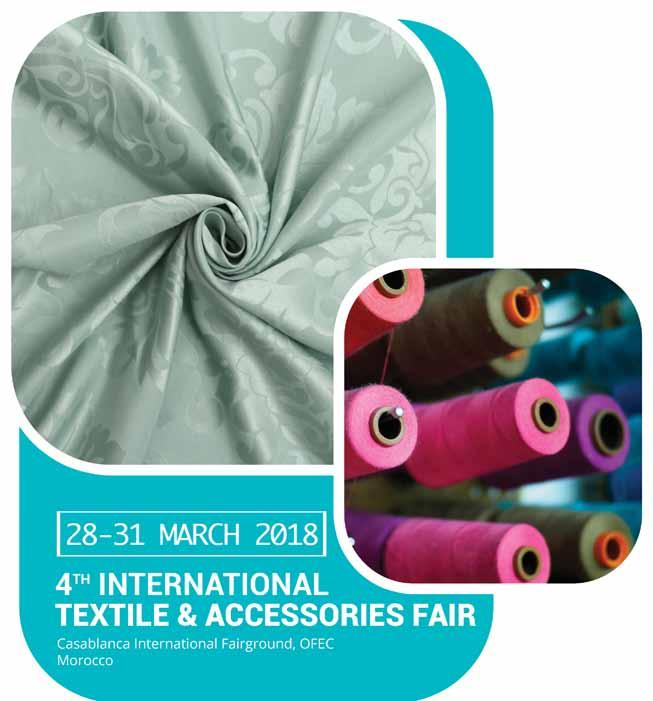 WE HOPE TO SEE YOU NEXT EDITION 28-31 MARCH 2019 5th FASHION, TEXTILE