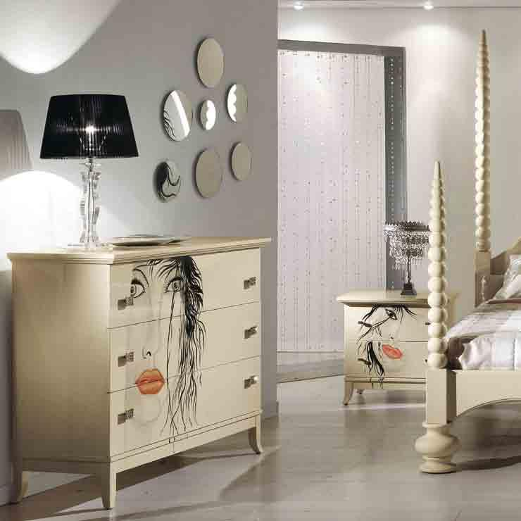 letto/bed FEELING comò/chest of drawers