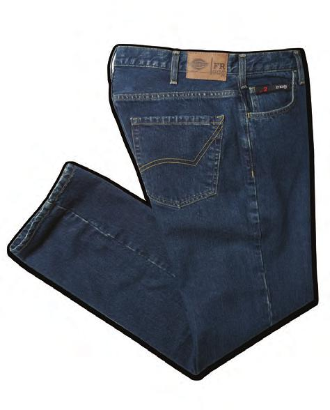 CONTEMPORARY FIVE-POCKET JEAN Relaxed fit Extra-durable double-stitched inner and back seams Bartacks at stress points