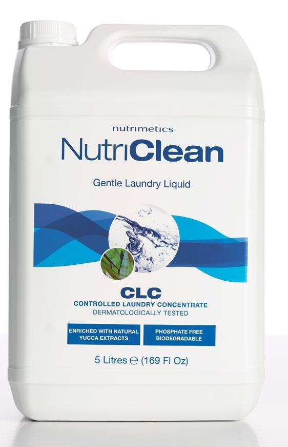 33 WASHES 165 WASHES CHOOSE YOUR SIZE NutriClean Controlled