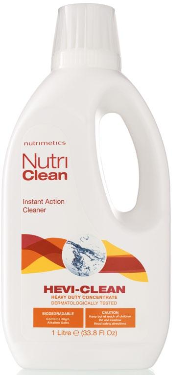 CHOOSE YOUR SIZE 48 NutriClean Hevi-Clean Heavy Duty Concentrate 1L $25.00 RRP (4855) $ 16.