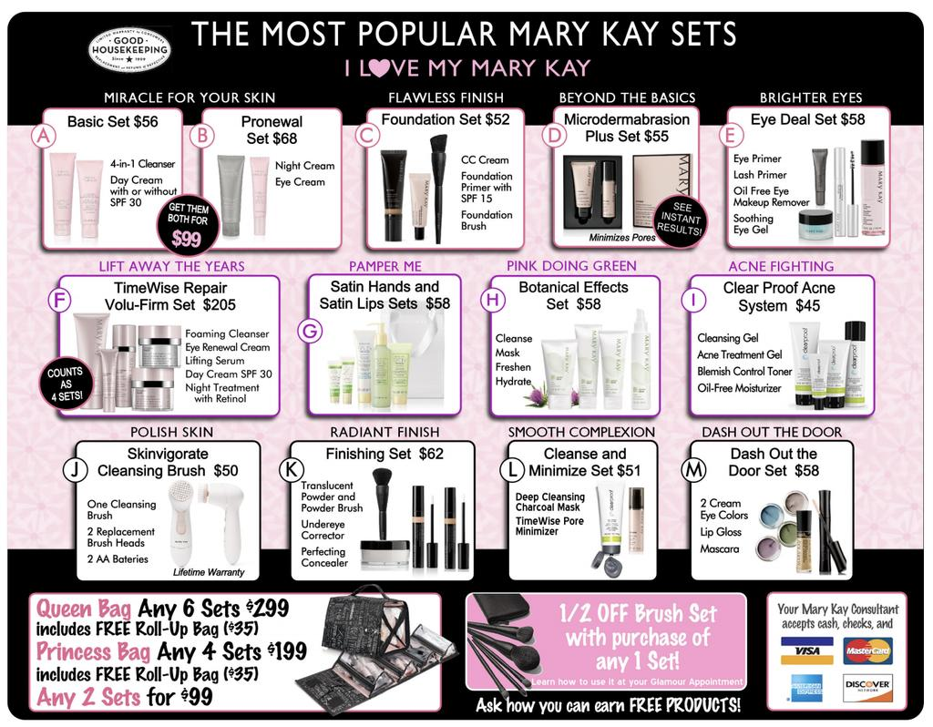 Closing Okay, at the end of every Mary Kay party you get TWO options!