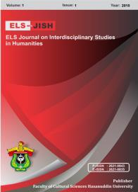 ELS-JISH ELS Journal on Interdisciplinary Studies on Humanities Volume 1 Issue 1, 2018 ISSN (print) : 2621-0843 ISSN (online) : 2621-0835 Homepage : http://journal.unhas.ac.id/index.