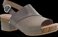 Leather-covered molded EVA footbed with memory foam