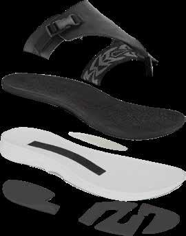 Rubber outsole for long lasting wear.