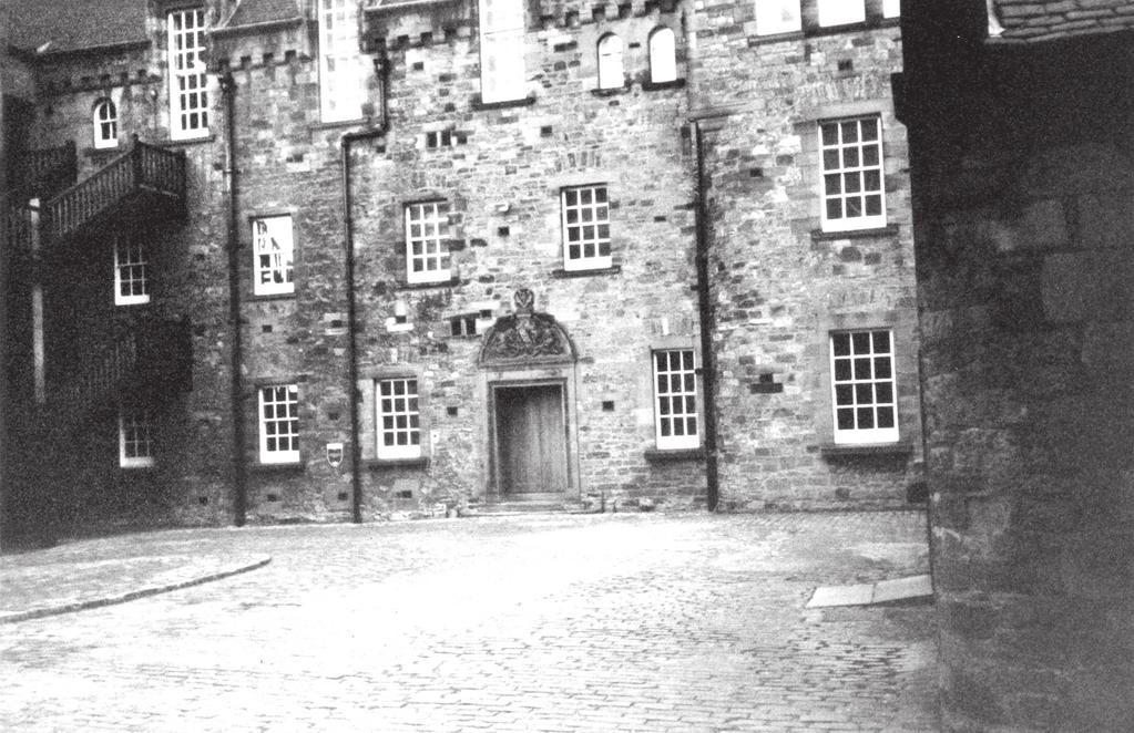 FIGURE 6 Military hospital in Edinburgh Castle; this was opened as a hospital in 1897. It previously had been used as an Ordinance depot in the eighteenth century.