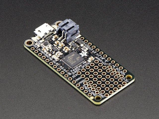 it/dhw) Adafruit Feather M0 (https://adafru.it/yax) Parts, Tools and Supplies Here's a list of the parts needed to make this project. Feather M0 (https://adafru.it/s1d) NeoPixel Jewel (https://adafru.