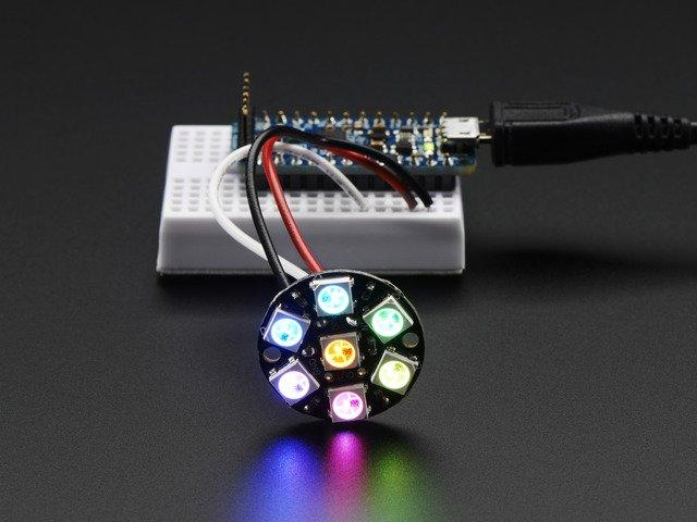 95 IN STOCK ADD TO CART Breadboard-friendly RGB Smart NeoPixel - Pack of 4 $7.