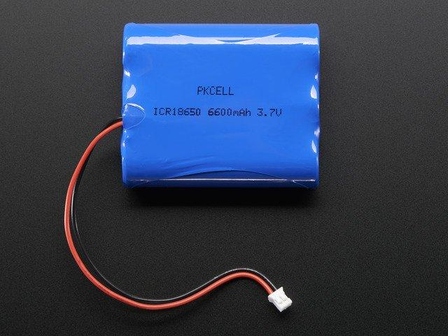 Drivers $5.95 IN STOCK ADD TO CART Lithium Ion Battery Pack - 3.7V 6600mAh $29.