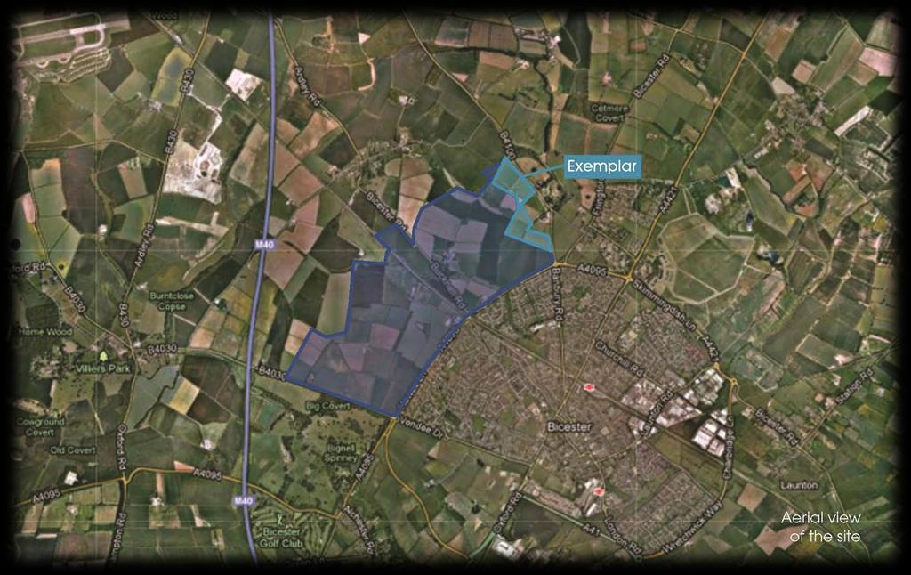 NW Bicester & the Exemplar phase NW Bicester 800 acres 5000