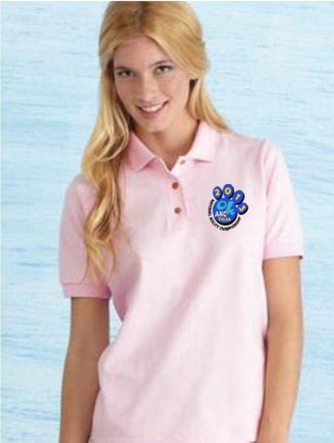 Item Code: L-Polo Color Choices: Kiwi, Light Pink, and Purple Price: $25.00 Small X-Large $28.