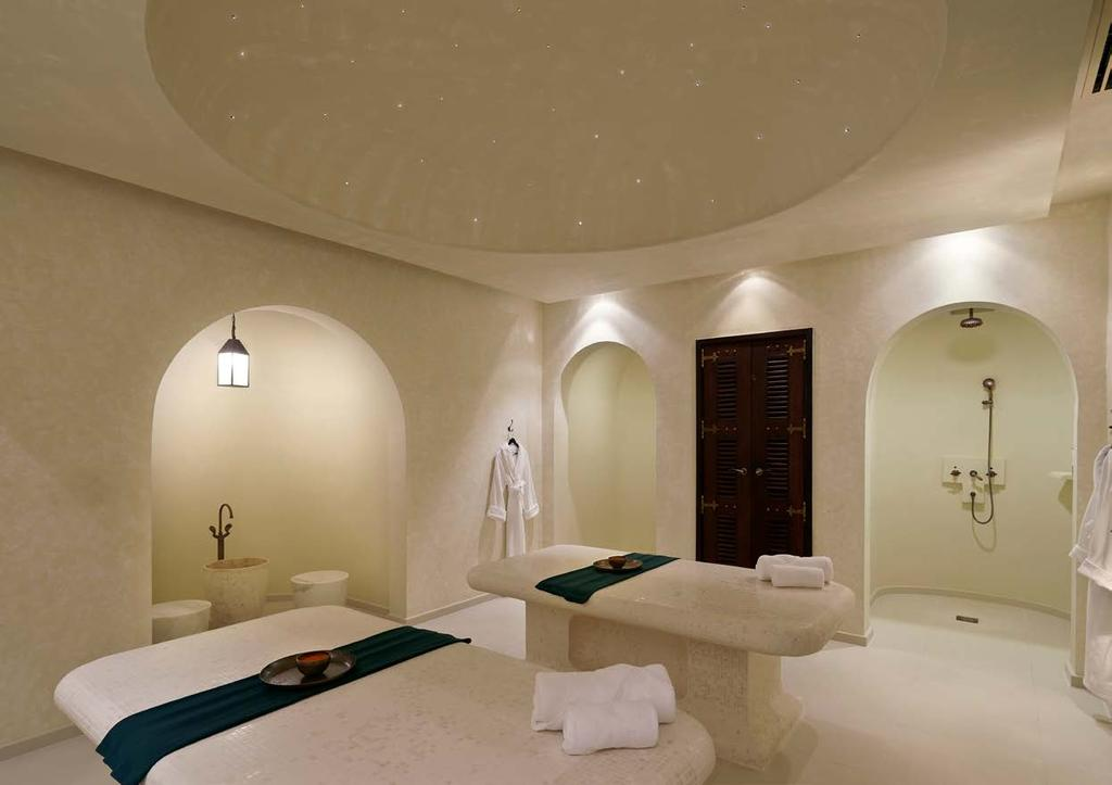 WELLNESS THERAPIES ROYAL HAMMAM, 80 MINUTES Traditional Hammam experience combined with a deeply relaxing back massage to release muscle tension.