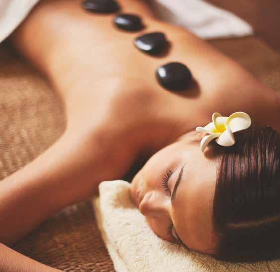 ROYAL DUALITY HOT STONE MASSAGE 60 MINUTES 15,000 VT Hot stone massage is a specialty massage where two therapists work together using smooth heated stones placed on the body