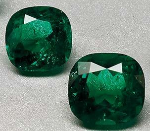 Colombian emeralds have always been the most sought after by the market. Size is another attractive trait Colombian emeralds come in big sizes, noted Haag.
