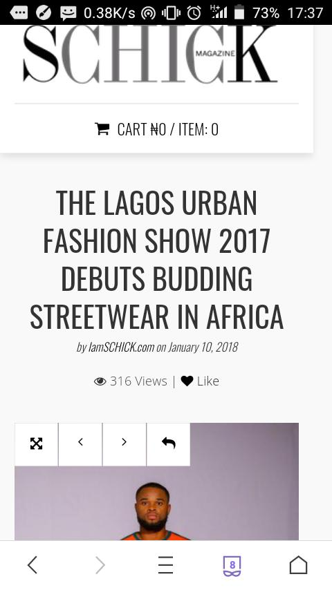 PROMOTING/MARKETING THE LUFS 2018 PRESS The Lagos Urban Fashion Show has a dedicated PR team to ensure that the Show Receives strong media coverage across the country; with 2 press Conferences that