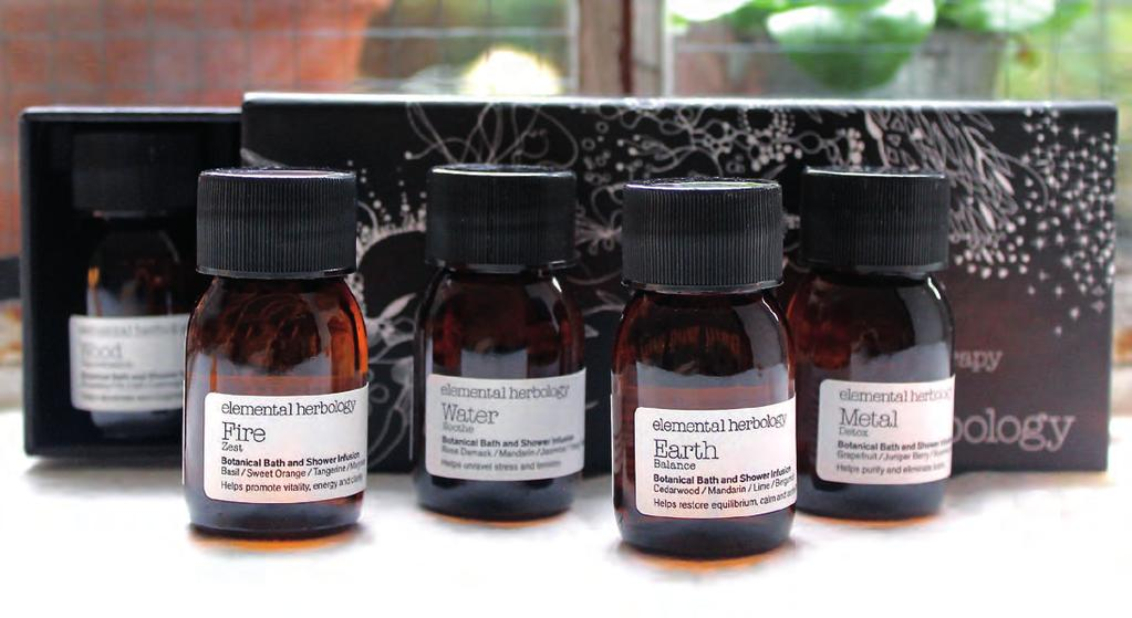 Elemental Herbology Face and Body Treatments Elemental Herbology is an English company who base everything around the Five Element Theory from Traditional Chinese edicine; everything in life needs to