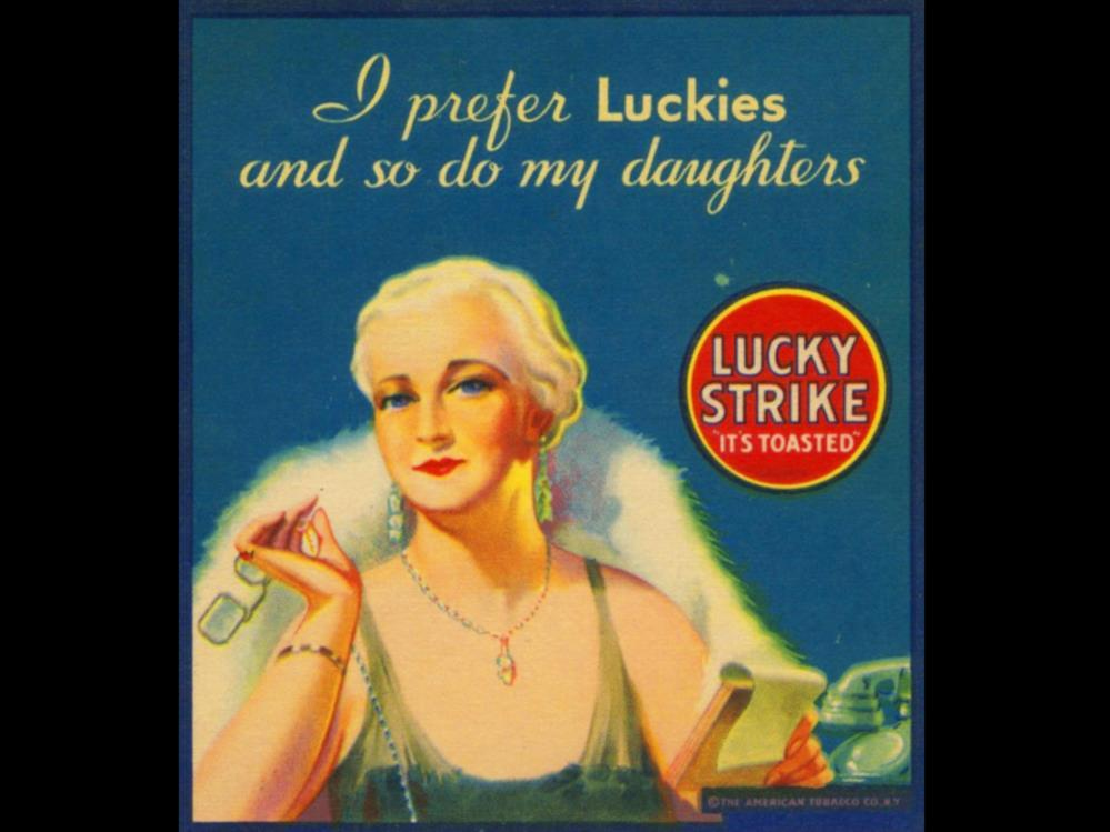 Date: Brand: Manufacturer: Campaign: Theme: Key Phrase: Lucky Strike The American Tobacco Co.