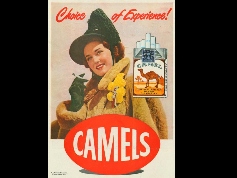 Date: Brand: Manufacturer: Campaign: Theme: Key Phrase: Camel R.J. Reynolds Tobacco Co. Choice of Experience!