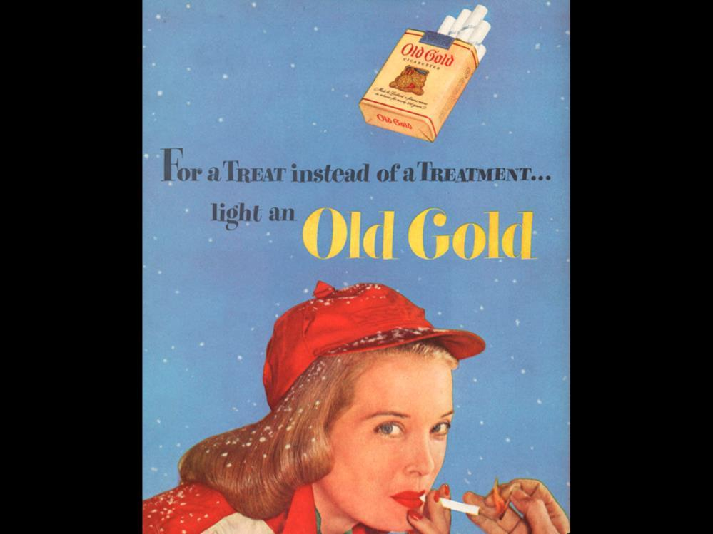 Date: 1953 Brand: Old Gold Manufacturer: Lorillard Tobacco Co.