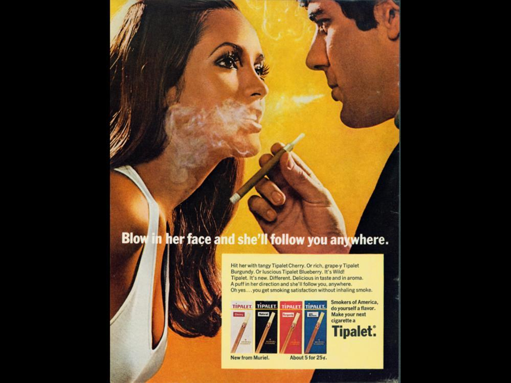 Date: Brand: Tipalet Manufacturer: Campaign: Blow in her face and she ll follow you anywhere.