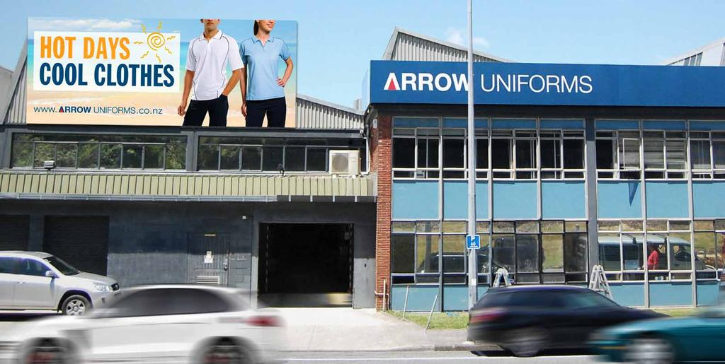A PRIME SPOT FOR A PRIME TEAM At Arrow, we have an excellent building location, right next to State Highway 2 in Melling, Lower Hutt.