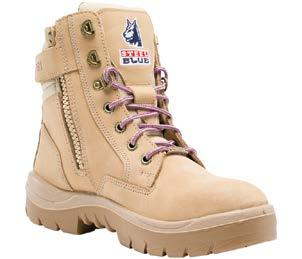 3 EN ISO 20345 ASTM F2413 LADIES 4-432 Ladies lace-up leather boot NATUREform steel toe cap with a wide profile for greater comfort.