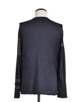 applique on sleeves with two fabric combination t-shirt SIZE S, M, L, XL (REGULAR FIT) combo Tuareg