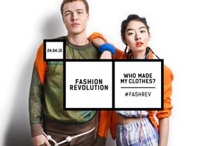 FASHION REVOLUTION DAY UNIVERSITIES 12 Worksheet: Design a Fashion Revolution Day poster