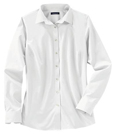 Women s - Shirts Freshly-pressed-without-thefuss ease of no iron in a lighter Broadcloth.