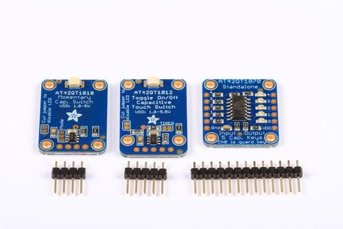 Adafruit Capacitive Touch Sensor Breakouts Created