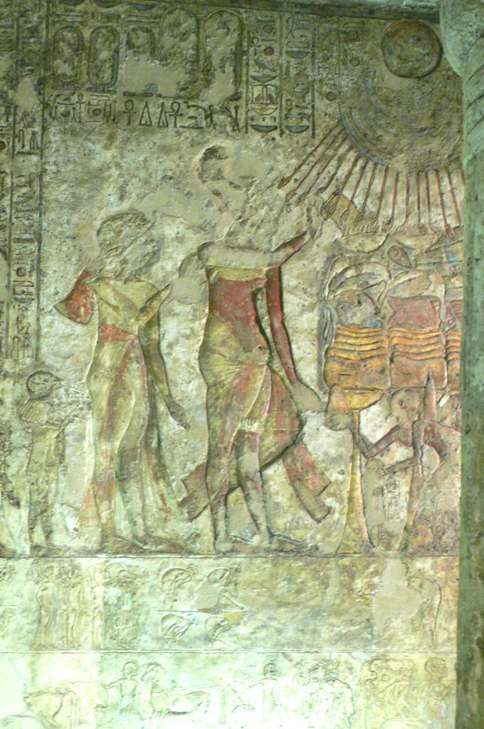 In none of the tombs have the remains been found of an original, Amarna Period burial.