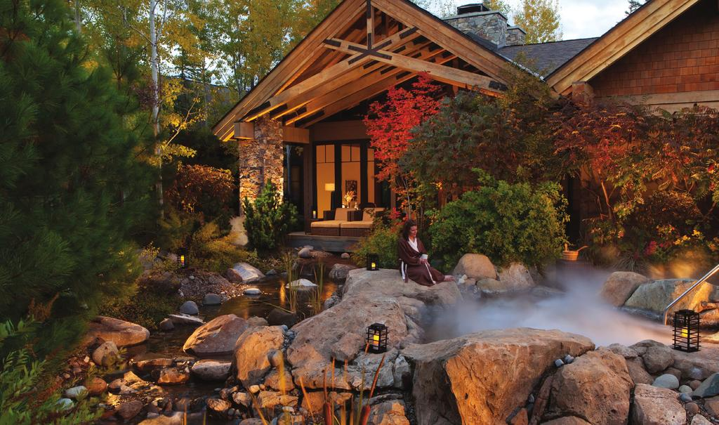 Escape to the mountains for a nature-inspired experience at Glade Spring Spa Just 80 miles east of Seattle, a luxurious mountain retreat awaits.
