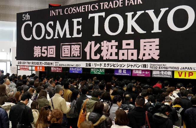 POST SHOW REPORT January 23-25, 2017 at Tokyo Big Sight Organised by: Reed Exhibitions Japan Ltd. Concluded in a Huge Success!