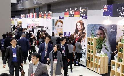 COSME TOKYO 2017 renewed the record again both in the number of exhibitors and visitors.