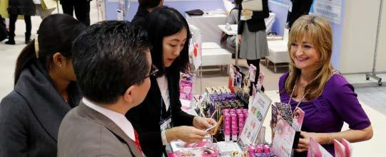 With extensive support services for international exhibitors including regulatory/shipping support and targeted visitor promotion for importers/distributors, COSME TOKYO