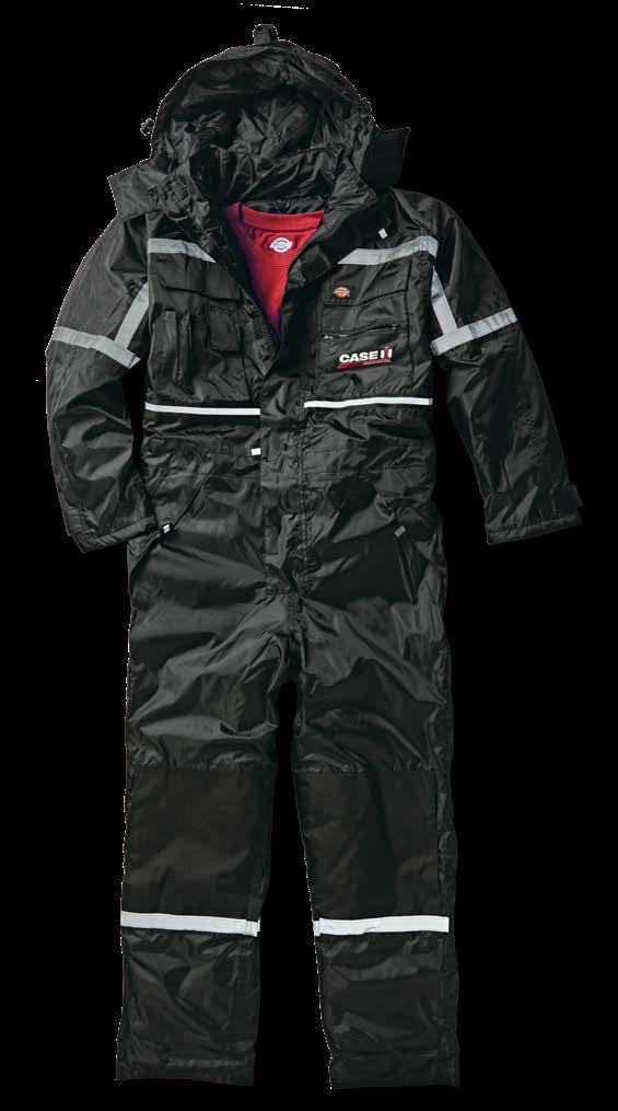 The Waterproof Padded Overall is ideal for the rugged, wet conditions as an all in one
