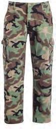 Knee Patches With Darts COLOURS: Camo Pocket With Cellphone Division Knee