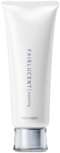 Menard Fairlucent Concern: Whitening W a s h i n g C r e a m This product foams smoothly into a pleasing lather, making