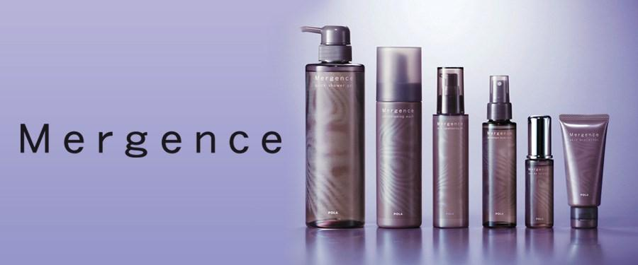 POLA Mergence Concern: Men s anti aging skincare C o n d i t i o n i n g W a s h Deeply cleanses impurities while protecting the moisture of the skin Self-foaming wash Removes all impurities pores