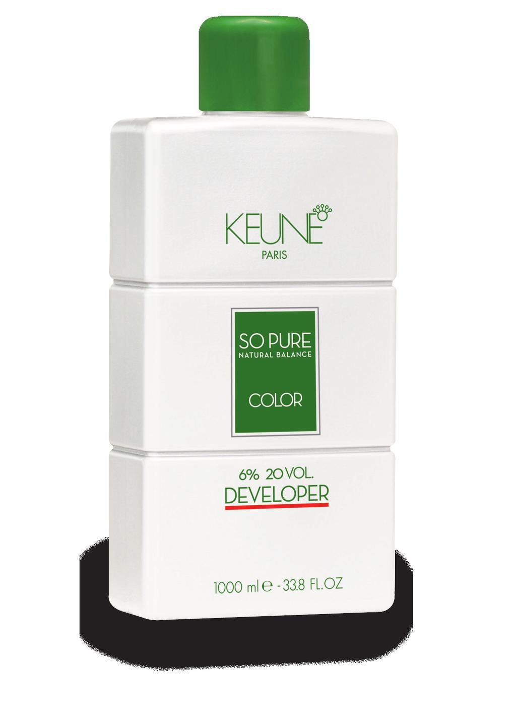 4.2 So Pure Color Developer The So Pure Color Developer is a paraben free developer, enriched with a color stabilizer.