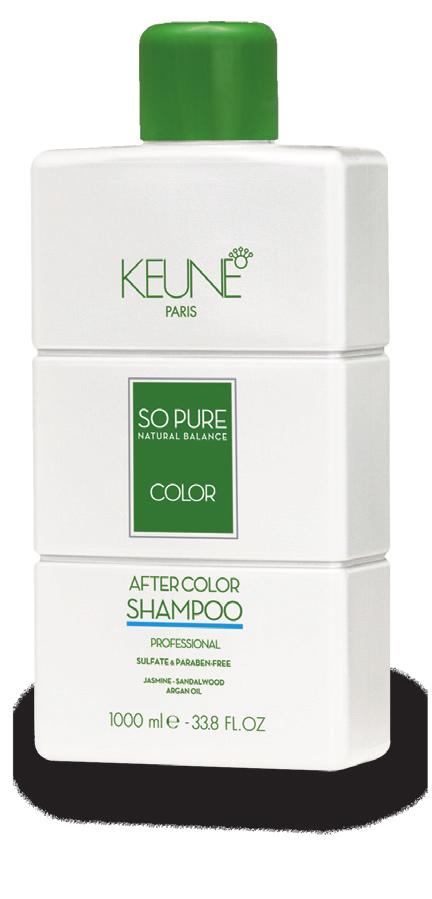 4.3 So Pure Color After Color Program To stop the complete oxidation process and neutralize the hair after coloring we