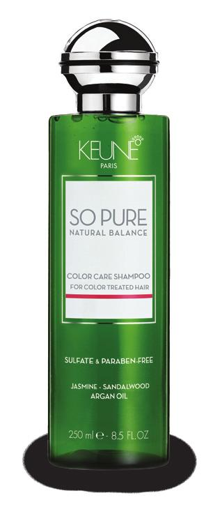 Contains natural citric acid which closes the cuticle and leaves the hair manageable. The ph value is 4.