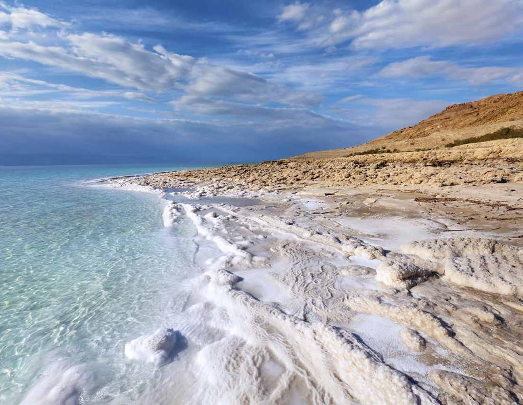 WHY THE DEAD SEA? Incredible healing powers first discovered 5,000 years ago 26 minerals combination of 12 only found here Visited by 1.