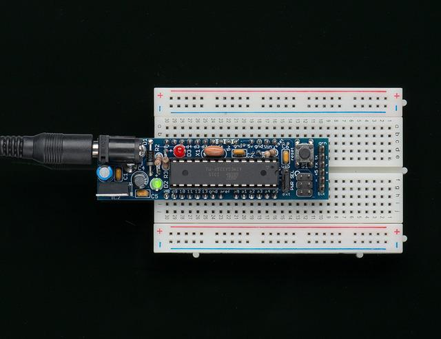 Overview If you've ever struggled to use a solderless breadboard with an Arduino, you