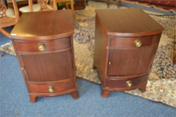 246 A pair of mahogany