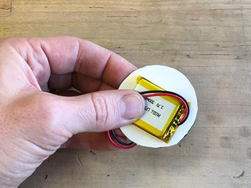in hand easily Put the cardboard between the board