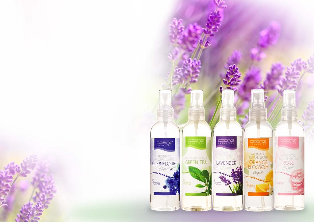 favorite choice AROMATIC FLORAL WATER It tones, moisturizes, refreshes and cleanses the skin, helps the skin look fresh and radiant. Improves the skin structure and look.